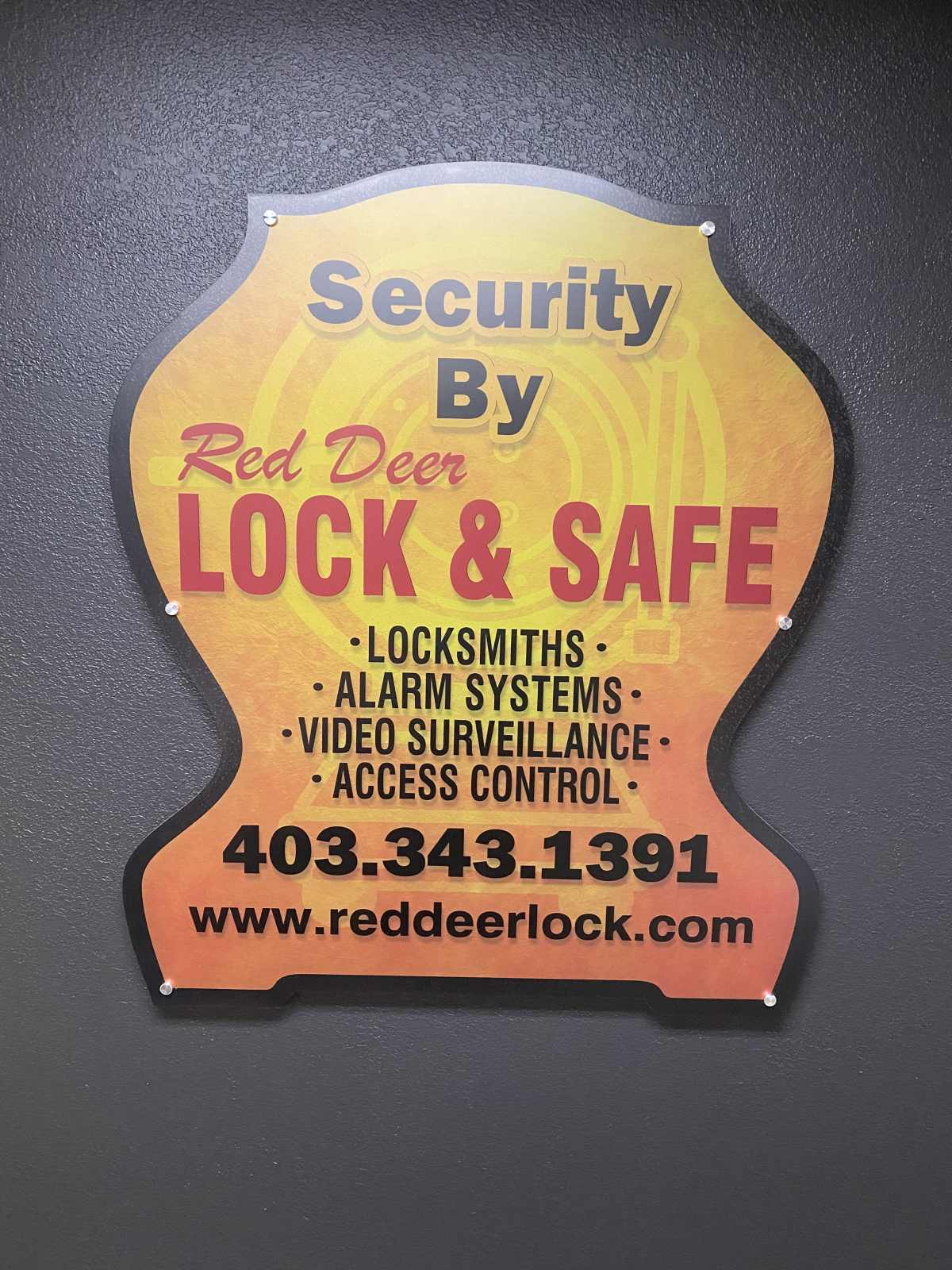 security by Red Deer Lock & Safe Ltd